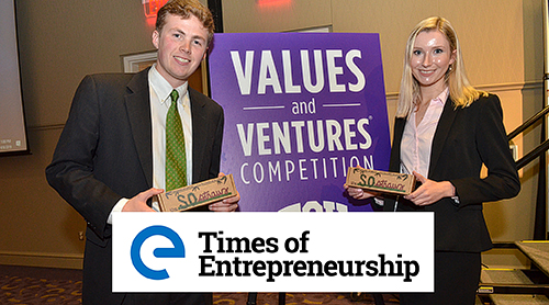 Values and Ventures competition